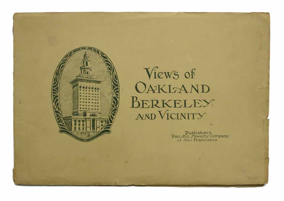 views of oakland berkeley and vicinity souvenir booklet 1st