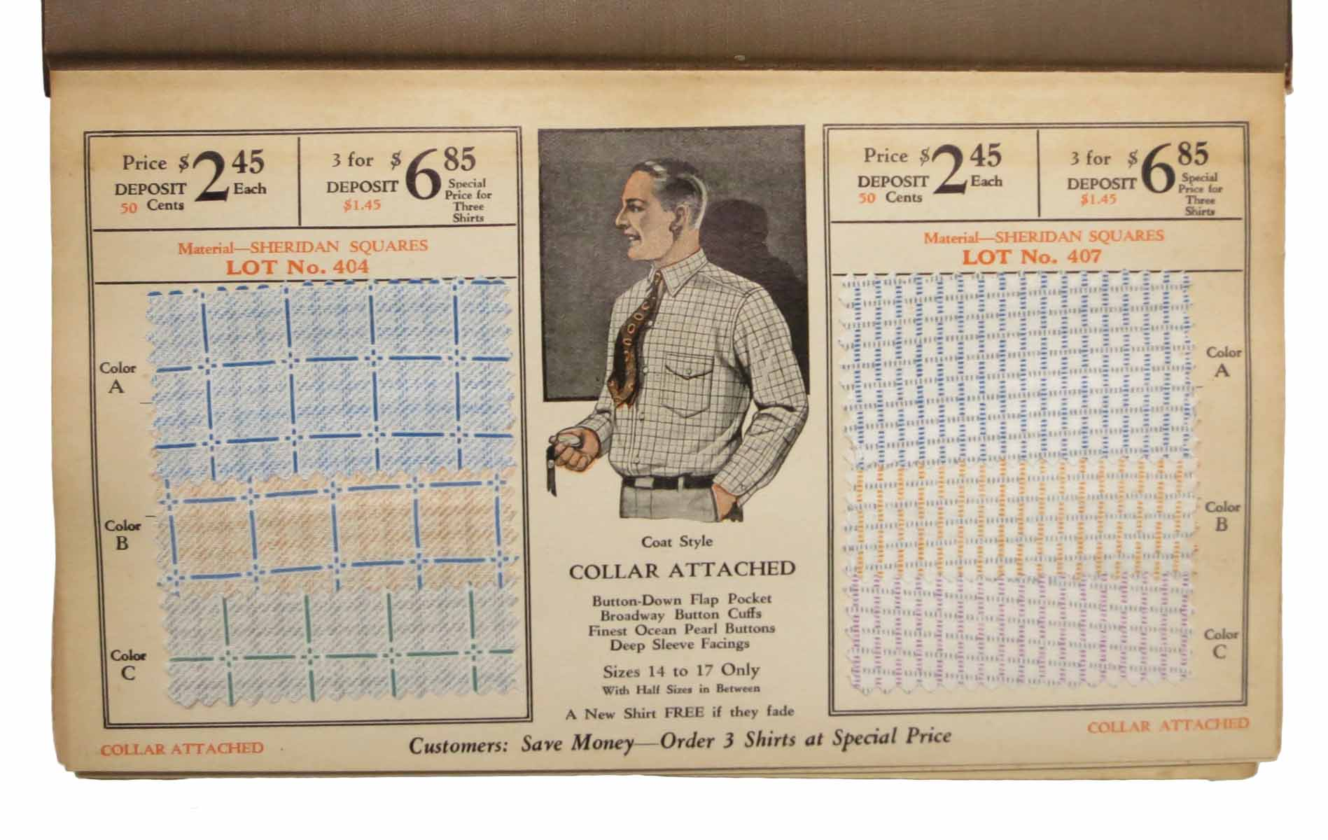 here s a real shirt chicago patent shirt co cloth sample catalogue
