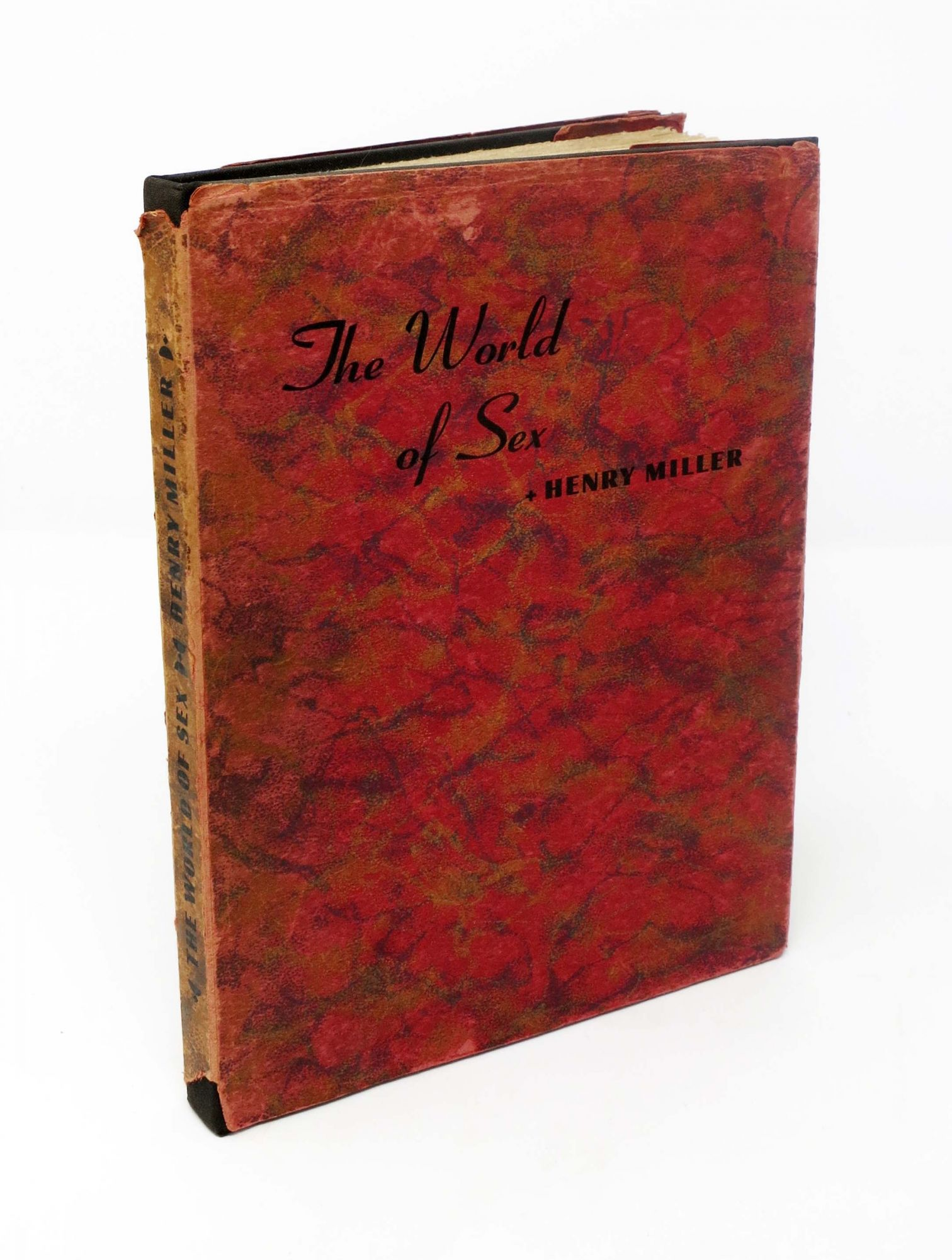 Wednesday Henry Miller Blogging >> The World Of Sex Henry Miller 1891 1980 1st Edition Shifreen