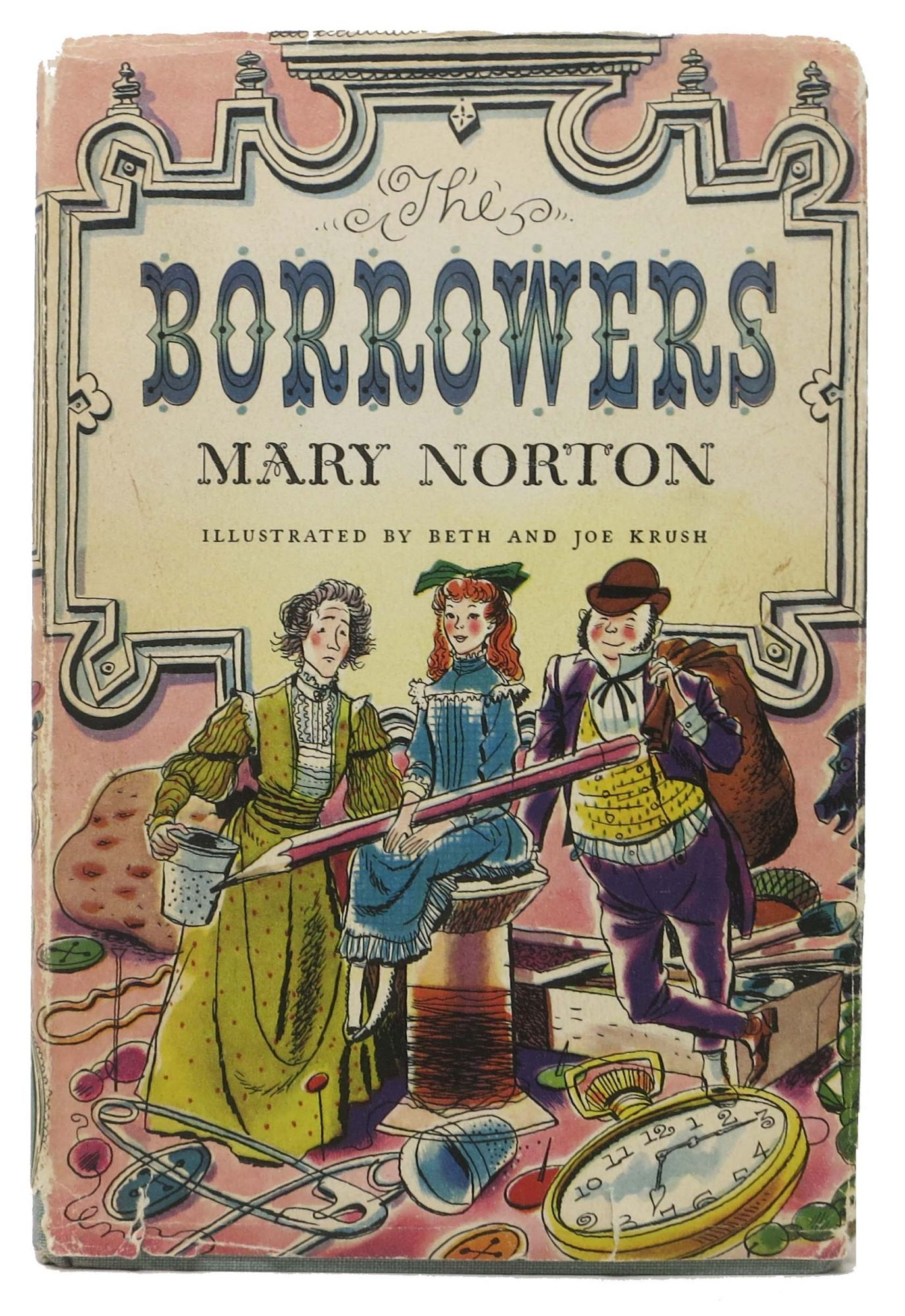 The BORROWERS | Mary Norton | Early printing, ca 1953