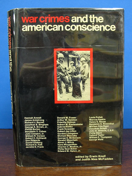 WAR CRIMES And The AMERICAN CONSCIENCE. Erwin - Knoll.