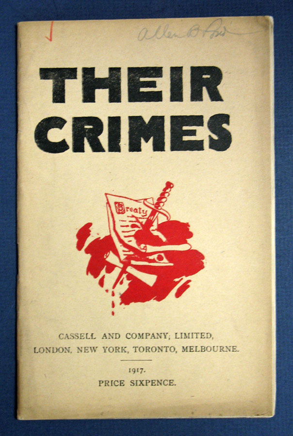 THEIR CRIMES. Translated from the French.; English Translation Edited by J.E. Adams. WWI, L. Mirman, G. Simon, G. Keller.