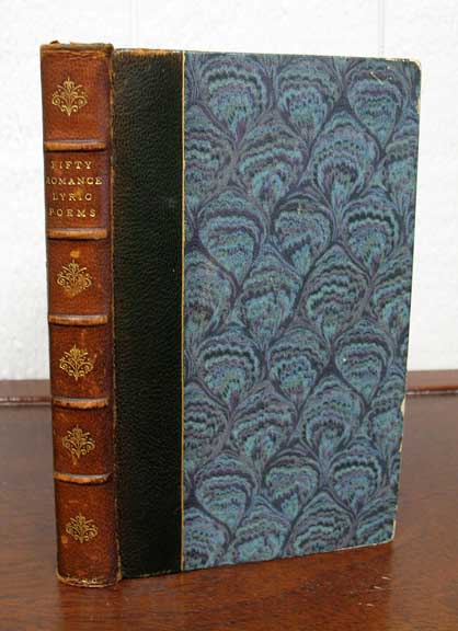 FIFTY ROMANCE LYRIC POEMS. Bruce. 1870 - 1957 Rogers, Richard - Aldington, 1892 - 1962.