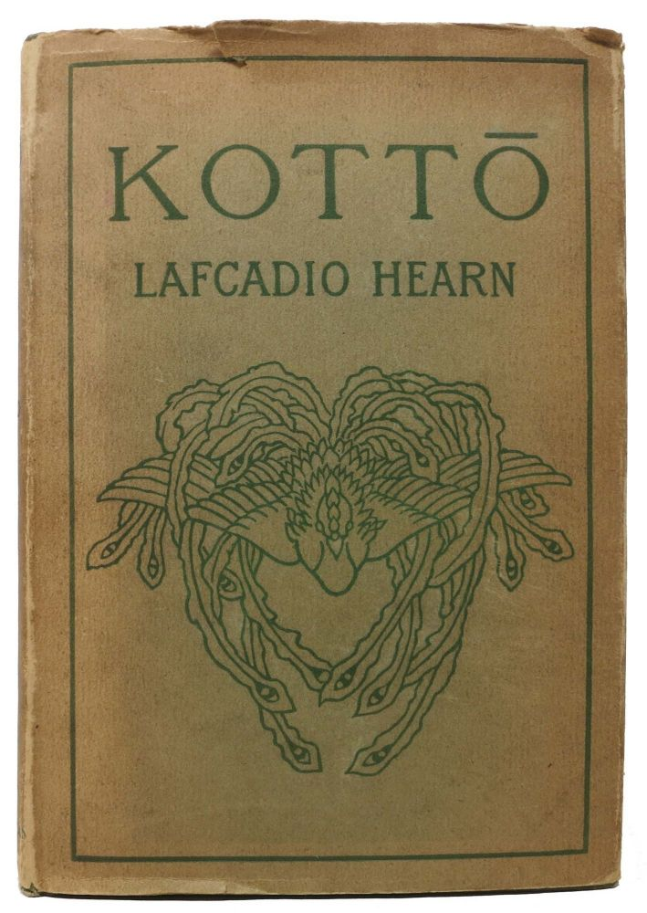 KOTT . Being Japanese Curios, with Sundry Cobwebs. Lafcadio Hearn, 1850 - 1904.