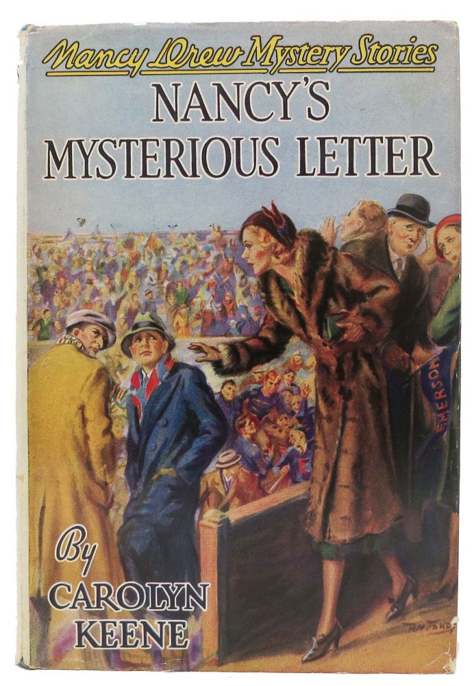 NANCY'S MYSTERIOUS LETTER. The Nancy Drew Mystery Series #8. Carolyn Keene, in this case pseudonym, Walter, for Karig.