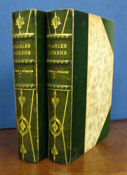 LETTERS & SPEECHES Of CHARLES DICKENS. Charles Dickens, 1812 - 1870.