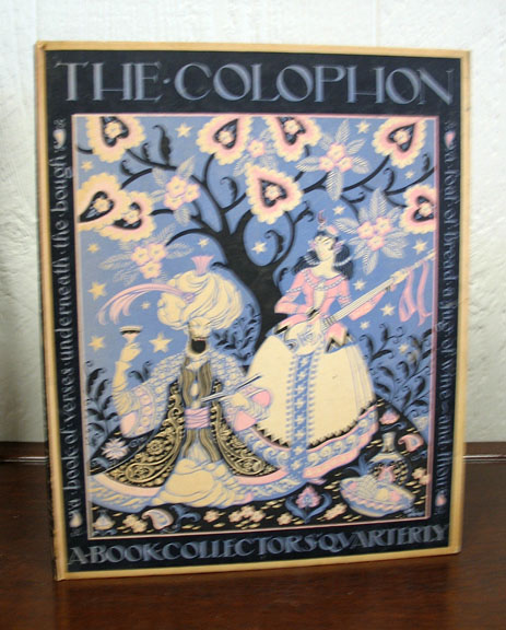 The COLOPHON. A Book Collectors Quarterly, Part Fourteen. Elmer Adler, Alfred Stanford, John T. Winterich.