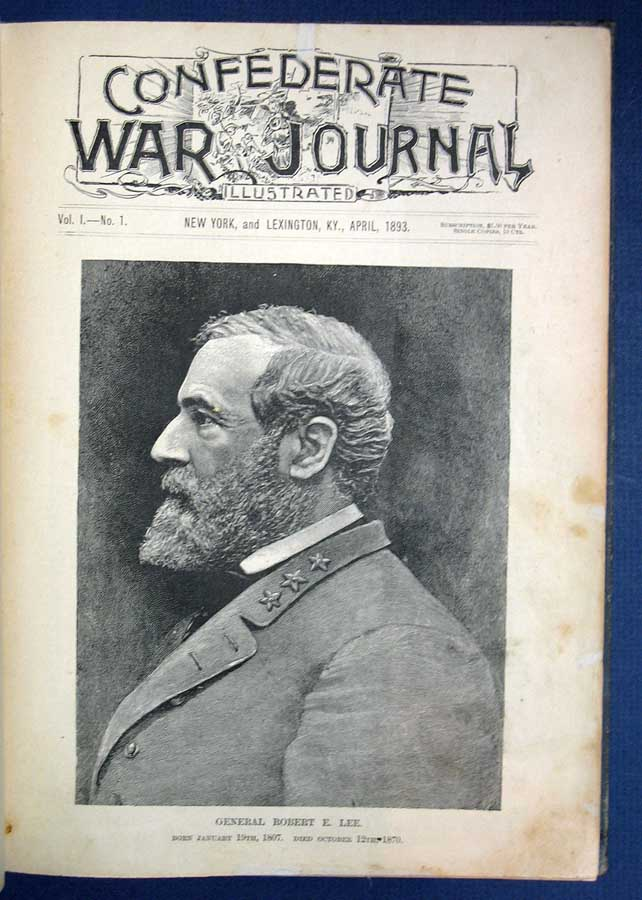 CONFEDERATE WAR JOURNAL. Illustrated. Volume I. Numbers 1 - 12. Civil War.