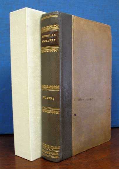 The LIFE And ADVENTURES Of NICHOLAS NICKLEBY. Charles Dickens, Boz, 1812 - 1870.