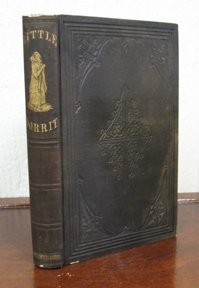 LITTLE DORRIT. Illustrated Edition. Two Volumes Complete in One.; From 'Peterson's Uniform Edition of Charles Dickens' Works'. Charles Dickens, 1812 - 1870.