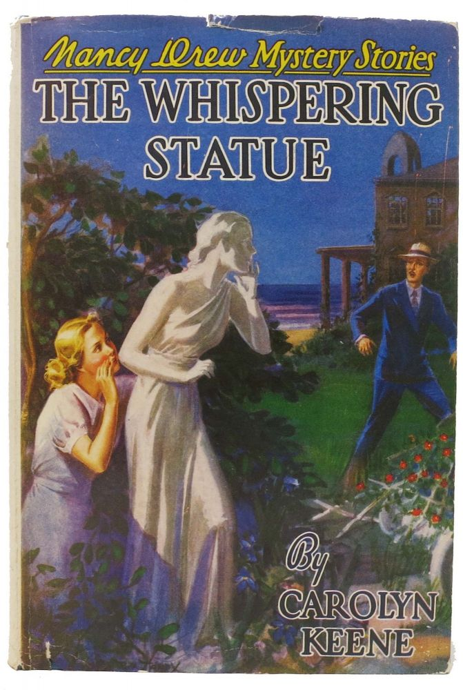 The WHISPERING STATUE. Nancy Drew Mystery Stories #14. Carolyn Keene, Benson, Mildred A. Wirt.