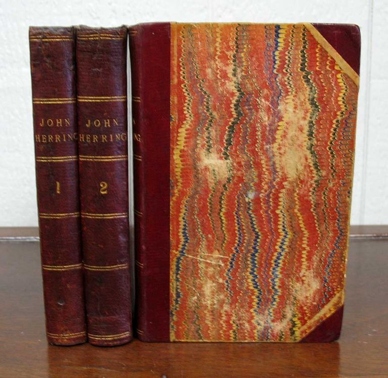 """JOHN HERRING. A West of England Romance. In Three Volumes. Sabine. 1834 - 1924 Baring-Gould, """"By the Author of 'Mehalah'''."""