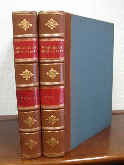 MEMOIRS, ILLUSTRATIVE Of The LIFE And WRITINGS Of JOHN EVELYN, ESQ. F.R.S. John. 1620 - 1706 Evelyn, William - Bray.