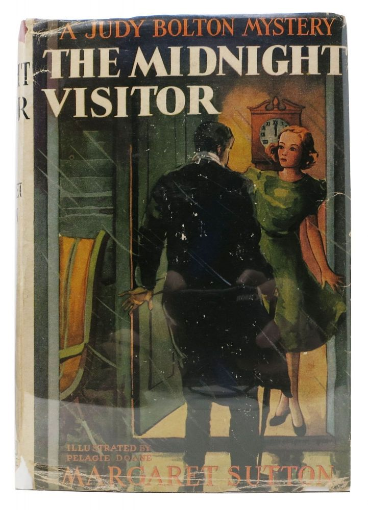 The MIDNIGHT VISITOR. The Judy Bolton Mystery Series #12. Margaret Sutton.
