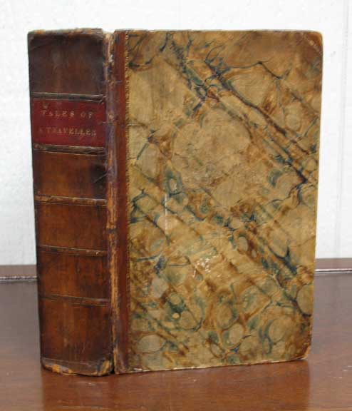 TALES Of A TRAVELLER. Part I [- IV]. Geoffrey Crayon, Washington. 1783 - 1859 pseudonym for Irving.