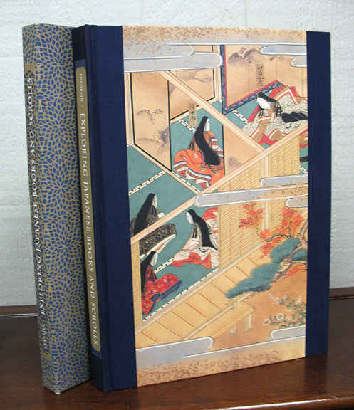 EXPLORING JAPANESE BOOKS And SCROLLS. Colin Franklin.