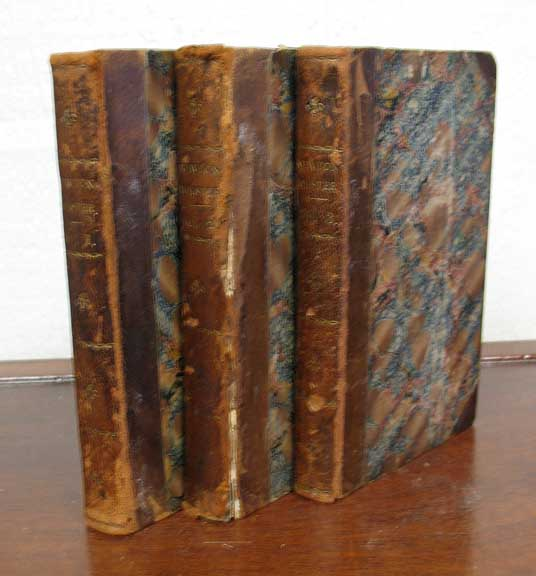 """NEWTON FORSTER; or, The Merchant Service. In Three Volumes. Captain Frederick. 1792 - 1848 Marryat, 'By the Author of """"The King's Own.""""'."""