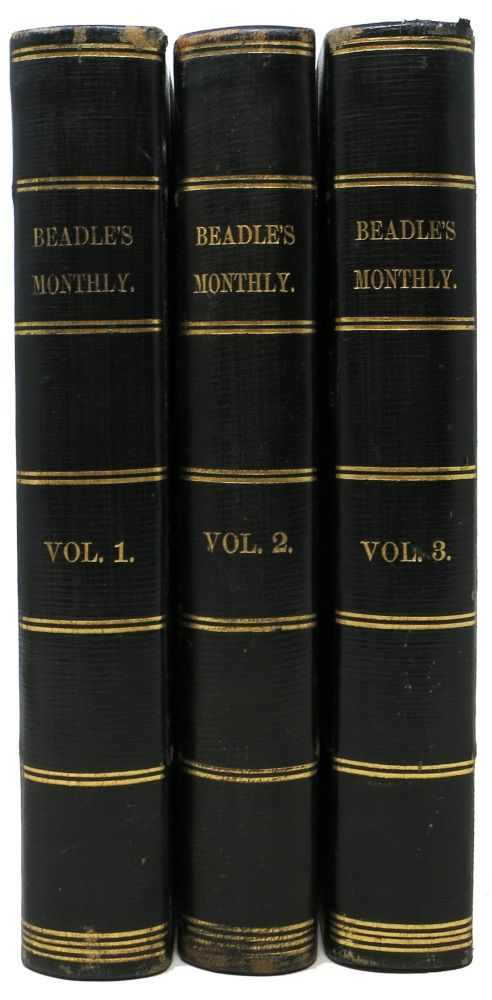 The DEAD LETTER [as Serialized in] BEADLE'S MONTHLY, A Magazine of To-Day. Vol. I - III. Seeley Regester, Mrs. Metta Victoria Fuller. 1831 - 1885 pseudonym for Victor.