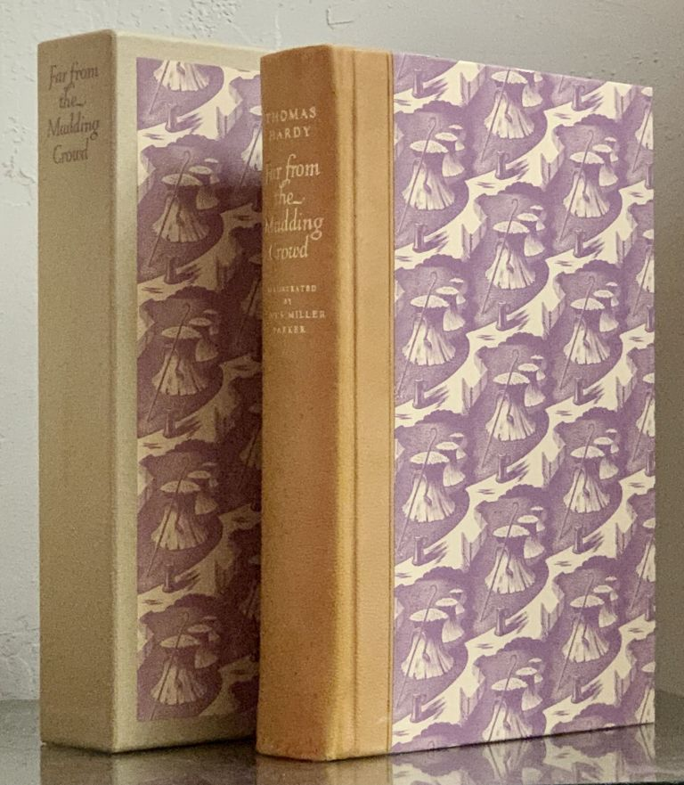 FAR FROM The MADDING CROWD.; With an Introduction by Robert Cantwell. Thomas Hardy, 1840 - 1928.