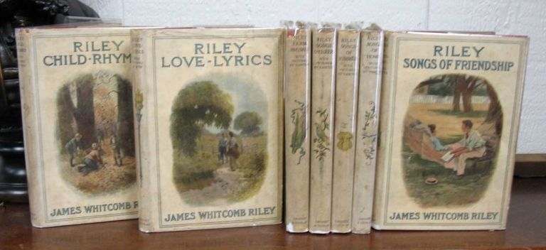 RILEY SONGS Of SUMMER. Riley Poems #5. James Whitcomb Riley, 1849 - 1916.
