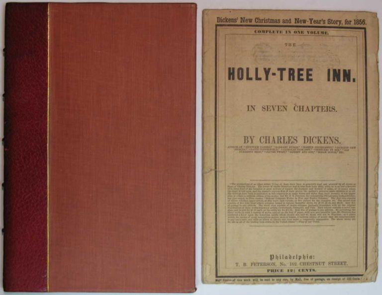The HOLLY-TREE INN. In Seven Chapters. Charles . Collins Dickens, Harriet, William . Parr, Adelaide Anne . Howitt, Wilkie . Proctor, 1812 - 1870, 1824 - 1889, 1825 - 1864, 1792 - 1879, 1828 - 1900.