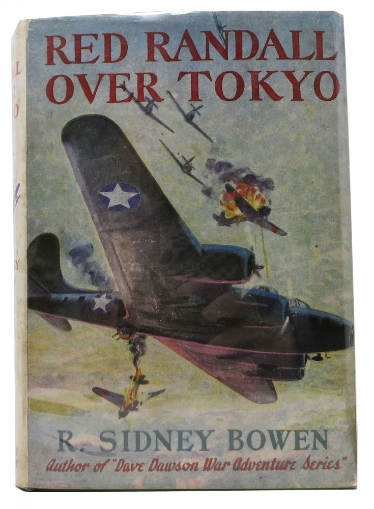 RED RANDALL OVER TOKYO. Red Randall Series #3. R. Sidney Bowen.