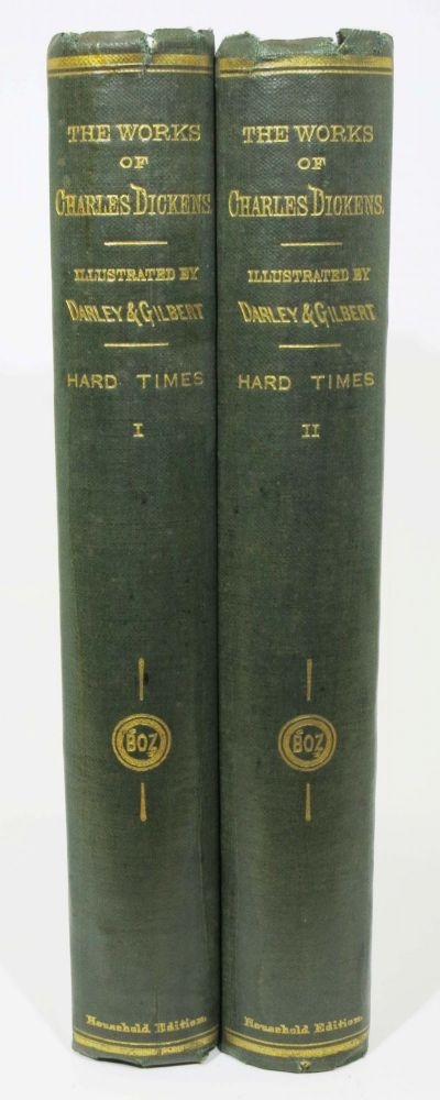 HARD TIMES For These Times. REPRINTED PIECES. Works of Charles Dickens. Household Edition. Charles . Darley Dickens, . . -, 1812 - 1870, elix, ctavius, arr. 1822 - 1888.