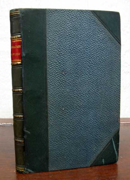 PARABLES. Translated from the German. . Krummacher, Miss. F. -, D. D. Johnston, rederic, dolphus. 1767 - 1845.