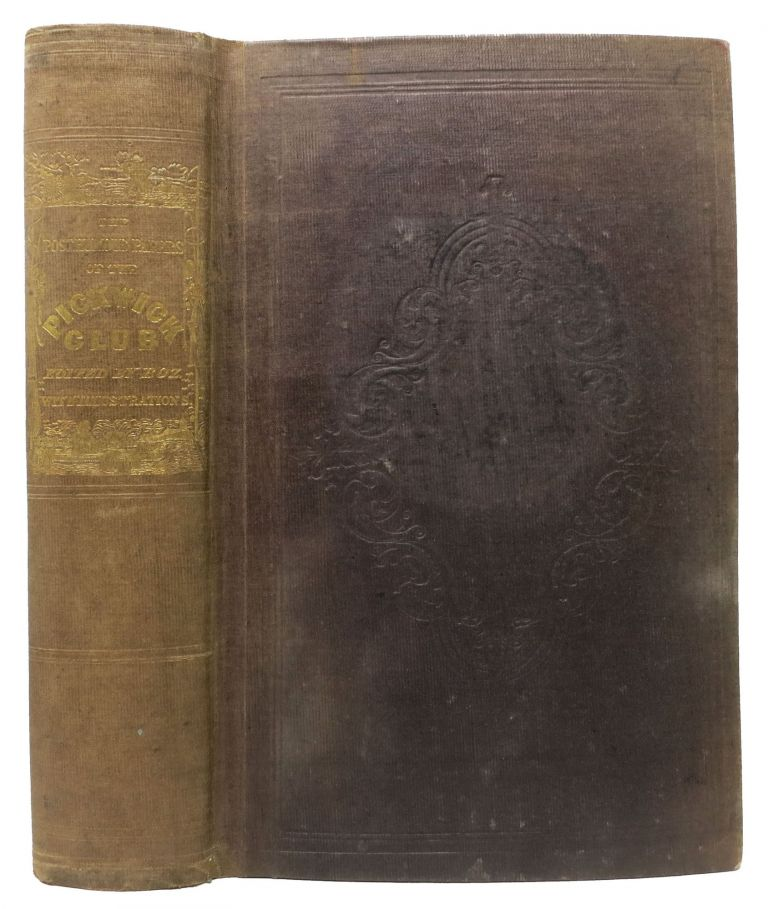 The POSTHUMOUS PAPERS Of The PICKWICK CLUB. Charles Dickens, 1812 - 1870.