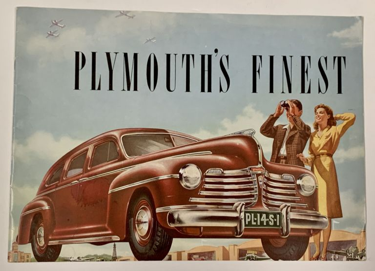 PLYMOUTH'S FINEST. Automotive Promotional Brochure.