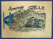 SOUVENIR Of WATSONVILLE, CALIFORNIA. Photo-Gravures. Californiana Promotional / Booster Literature.