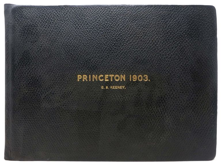 PRINCETON. 1903. Class Photograph Album, C. B. - Former Owner. Woodrow Keeney, Wilson - University President, 1856 - 1924.