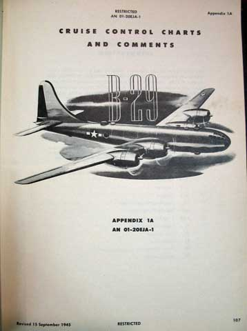 pilot s flight operating instructions for army models b 29 and b 29a rh tavbooks com Cockpit Boeing 797 Aircraft Boeing 747