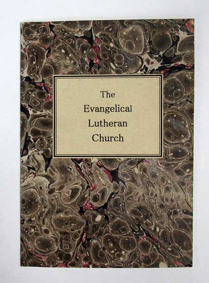 The EVANGELICAL LUTHERAN CHURCH, the True Visible Church of God on Earth. A Tract. Published by the Evangelical Lutheran English Augustana Conference of Stark and other Counties of Ohio. Theology.