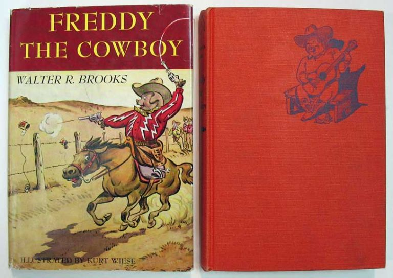 FREDDY The COWBOY. Walter Brooks, ollin. 1186 - 1958.