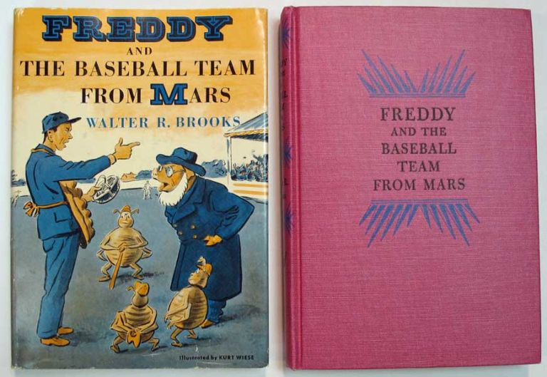 FREDDY And The BASEBALL TEAM From MARS. Walter Brooks, ollin. 1186 - 1958.