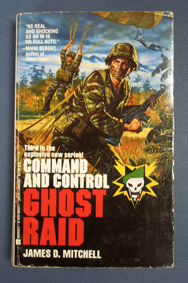 GHOST RAID. Command and Control 3. James D. Mitchell.