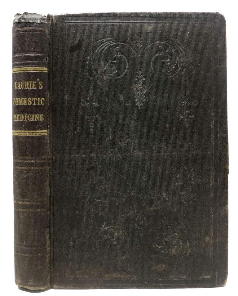HOMOEOPATHIC DOMESTIC MEDICINE. Second American Edition Enlarged and Improved by A. Gerald Hull. . Hull Laurie, A. Gerald - Contributor, oseph. d. 1865, 1810 - 1859.