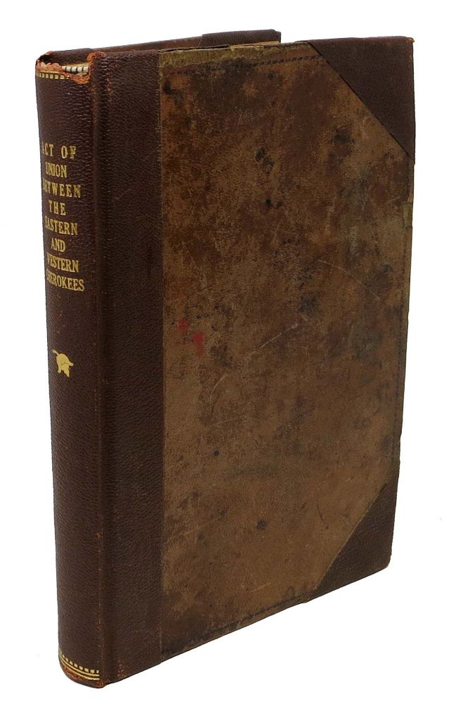 COMPILED LAWS Of The CHEROKEE NATION. Published by Authority of the National Council. John Lynch . Milam Adair, Jess Bartley - Former Owner, Ustinalunti. 1828 - 1896, 1884 - 1949.
