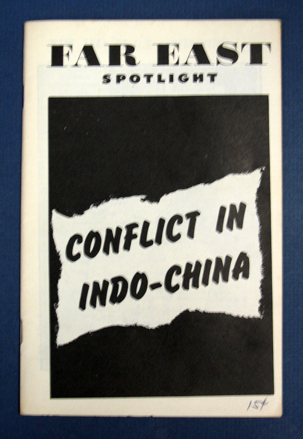 CONFLICT In INDO-CHINA. Informational Pamphlet.