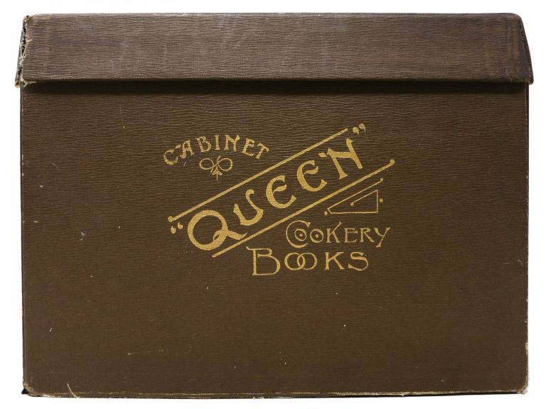"""The """"QUEEN"""" COOKERY BOOKS. Set of 14 Titles (Complete). S. - Compiler Beatty-Pownall."""