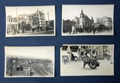 "SET Of EARLY 20th CENTURY SILVER-GELATIN PRINTS Of SHANGHAI. Divers Images featuring Shanghai Harbor, the Wangpoo River, Bund Street, Natives on a Busy Street, a Pilot Boat on the Wangpoo River, the ""Time Ball Station"" & Other Prominent Buildings and Landmarks Throughout Shanghai. Silver-Gelatin Photographs."