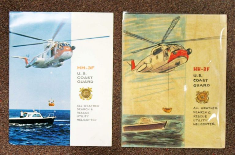 HH-3F U. S. COAST GUARD. All Weather Search & Rescue Utility Helicopter. Accompanied by Original Mock-up Artwork. Aviation Product Brochure.