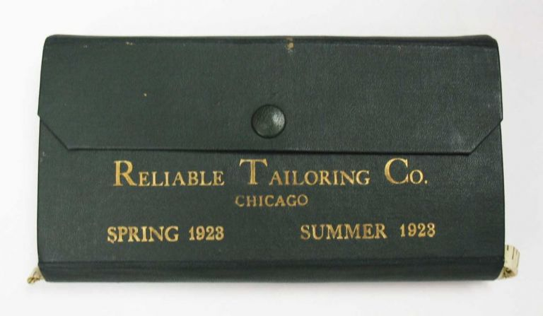The CLOTHES AMERICANS WEAR. Reliable Tailoring Company. Spring and Summer 1923. Salesman's Sample Catalogue.