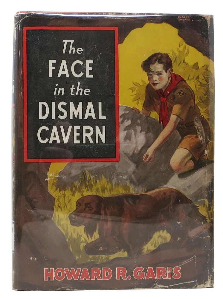 The FACE In The DISMAL CAVERN. RICK And RUDDY Series #2. Howard R. Garis.