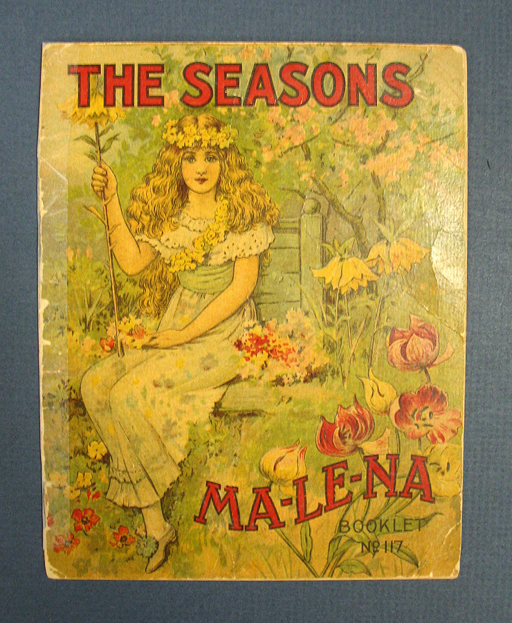 The SEASONS. Ma - Le - Na Booklet No. 117. Ma - Le - Na Company Manufacturers.