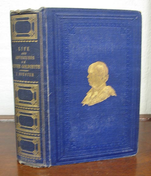 The LIFE and ADVENTURES of OLIVER GOLDSMITH. Dickens, John Forster.