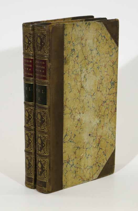 TRAVELS THROUGH SPAIN And PART Of PORTUGAL, with Commerical, Statistical, and Geographical Details. In Two Volumes. George Downing Whittington, - Attributed to.