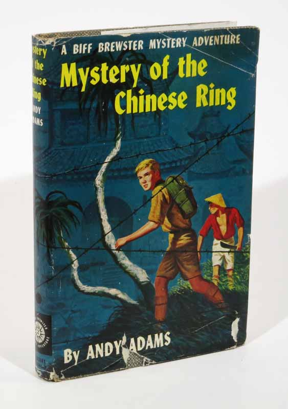 MYSTERY Of The CHINESE RING. Biff Brewster Mystery Adventure #2. Andy Adams, pseudonym.