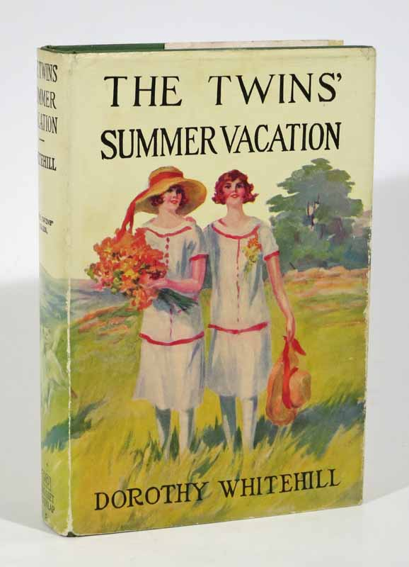 The TWINS' SUMMER VACTION. The Twins Series #5. Dorothy Whitehill.